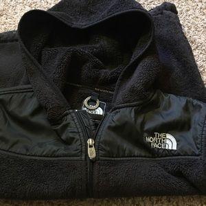 Black northface fleece  size medium